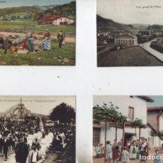 Postales: LOTE DE 90 REPRODUCIONES DE TARJETAS ANTIGUAS-EDITADO POR BBK Y DEIA- COLECCION COMPLETA-VER FOTOS. Lote 210491062