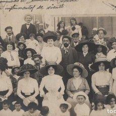 Cartes Postales: POSTAL DESCONOCIDA DEL AÑO 1910-CIRCULADA SIN SELLO-SAN SEBASTIAN-GUIPUZCOA. Lote 210601327