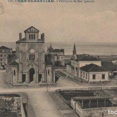 Postales: PARROQUIA DE SAN IGNACIO-SAN SEBASTIAN-GUIPUZCOA. Lote 211508186