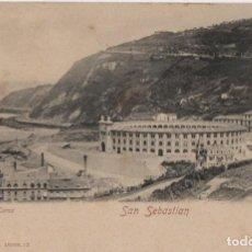 Postales: NUEVA PLAZA DE TOROS-SAN SEBASTIAN-GUIPUZCOA. Lote 211508286