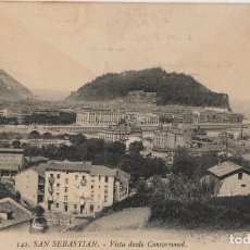 Postales: VISTA DESE CONCORRONED-SAN SEBASTIAN-GUIPUZCOA. Lote 211508567