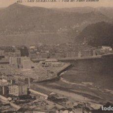 Cartes Postales: VISTA DEL NUEVO ENSANCHE-SAN SEBASTIAN-GUIPUZCOA. Lote 211508834