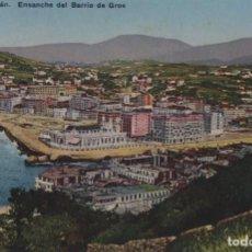 Postales: ENSANCHE BARRIO GROS-SAN SEBASTIAN-GUIPUZCOA. Lote 211509171