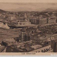 Postales: ENSANCHE BARRIO GROS-SAN SEBASTIAN-GUIPUZCOA. Lote 211509855