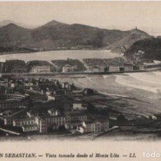 Postales: VISTA TOMADA DESDE EL MONTE ULIA-SAN SEBASTIAN-GUIPUZCOA. Lote 211509930