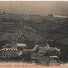 Cartes Postales: COLEGIO SAN BERNARDO-SAN SEBASTIAN-GUIPUZCOA. Lote 211579104