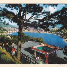 Postales: POSTAL VISTA DESDE IGUELDO. SAN SEBASTIAN (1970) - MANIPEL. FOURNIER. Lote 211596074