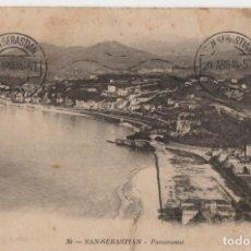 Cartes Postales: VISTA GENERAL DEL ANTIGUO-CIRCULADA Y SIN SELLO-SAN SEBASTIAN-GUIPUZCOA-. Lote 211940623