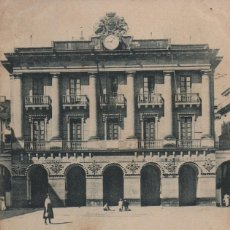 Postales: CASA CONSISTORIAL-CIRCULADA Y CON SELLO-SAN SEBASTIAN-GUIPUZCOA. Lote 212017443