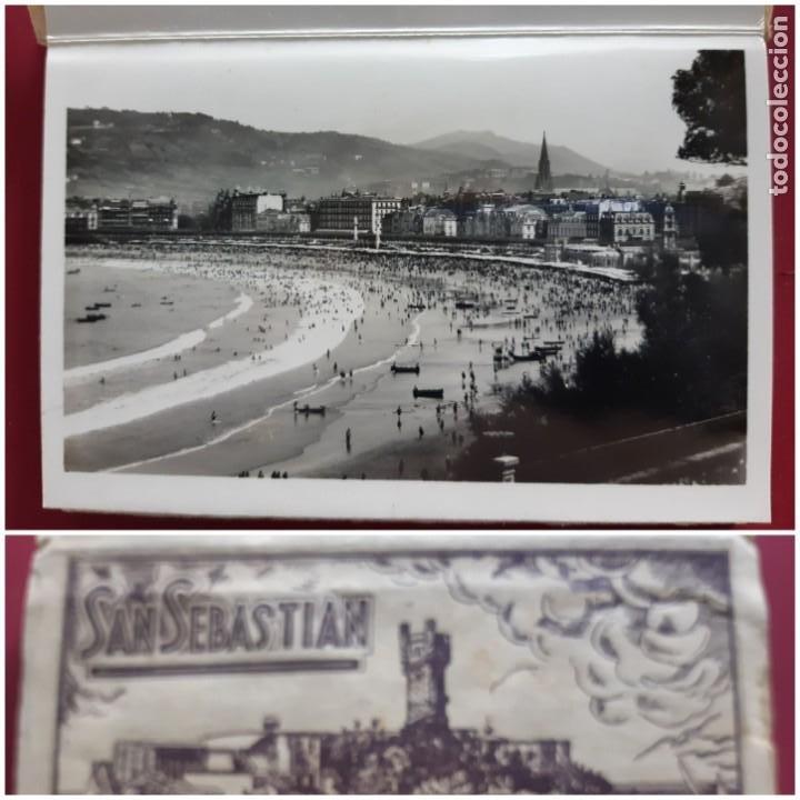 ALBUM DE 15 POSTALES DE SAN SEBASTIAN - FOTO GALARZA 1ª SERIE -PRINCIPIOS DE SIGLO (Postales - España - Pais Vasco Antigua (hasta 1939))