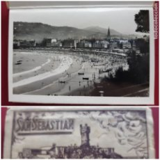 Postales: ALBUM DE 15 POSTALES DE SAN SEBASTIAN - FOTO GALARZA 1ª SERIE -PRINCIPIOS DE SIGLO. Lote 212201925