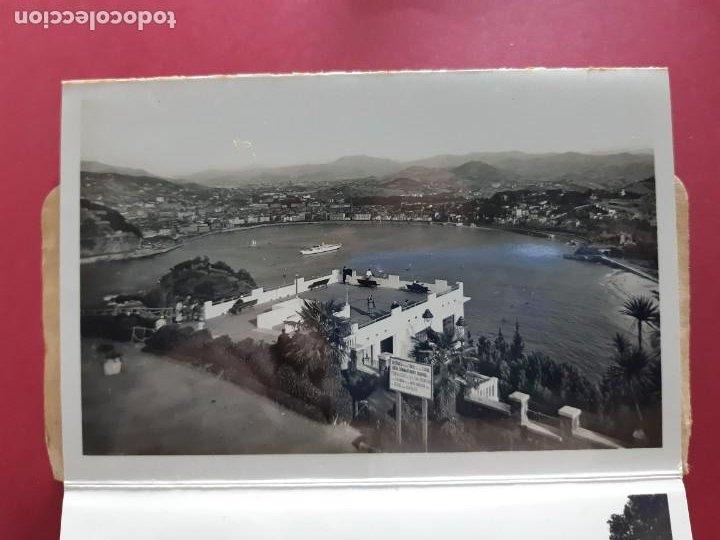 Postales: Album de 15 postales de San Sebastian - Foto Galarza 1ª Serie -principios de siglo - Foto 2 - 212201925