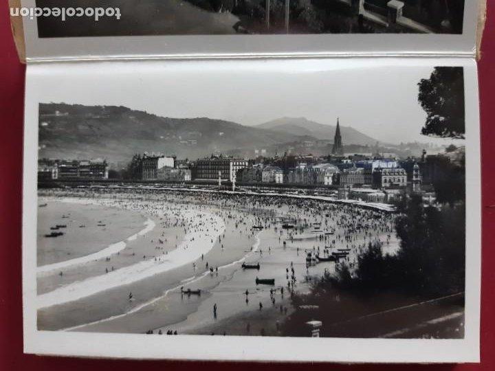 Postales: Album de 15 postales de San Sebastian - Foto Galarza 1ª Serie -principios de siglo - Foto 3 - 212201925