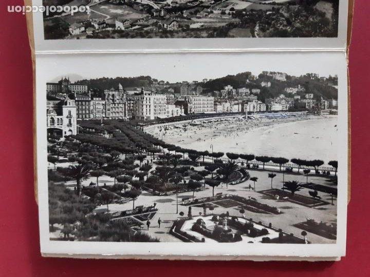 Postales: Album de 15 postales de San Sebastian - Foto Galarza 1ª Serie -principios de siglo - Foto 4 - 212201925
