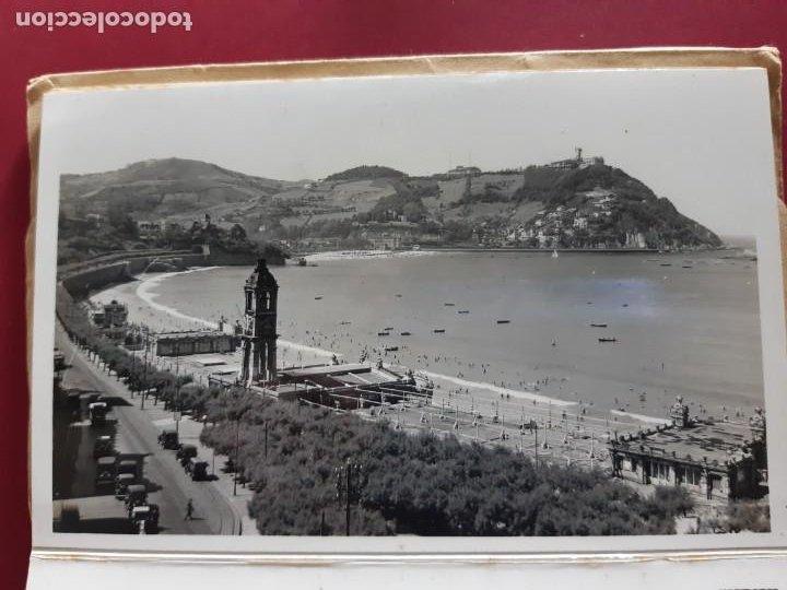 Postales: Album de 15 postales de San Sebastian - Foto Galarza 1ª Serie -principios de siglo - Foto 5 - 212201925
