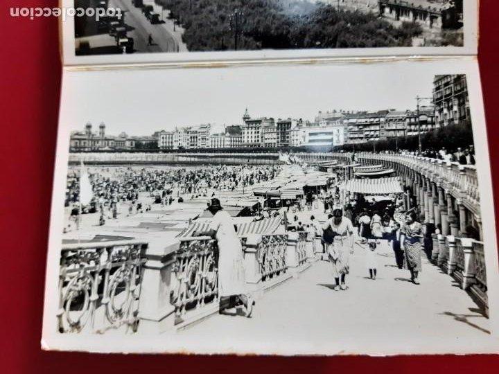Postales: Album de 15 postales de San Sebastian - Foto Galarza 1ª Serie -principios de siglo - Foto 6 - 212201925