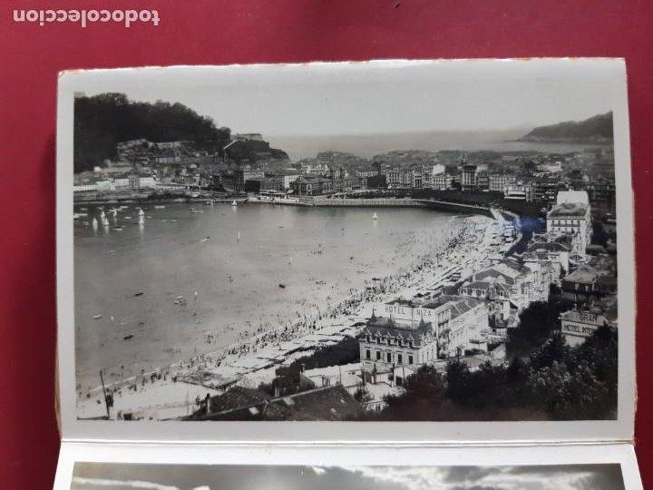 Postales: Album de 15 postales de San Sebastian - Foto Galarza 1ª Serie -principios de siglo - Foto 7 - 212201925