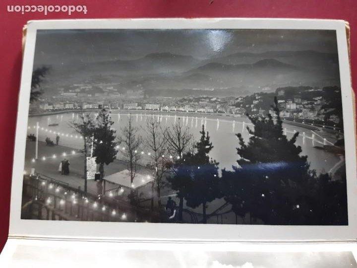 Postales: Album de 15 postales de San Sebastian - Foto Galarza 1ª Serie -principios de siglo - Foto 9 - 212201925