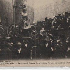 Cartes Postales: PROCESION DE SEMANA SANTA-SANTA VERONICA-FUENTERRABIA-GUIPUZCOA. Lote 212614428