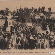 Cartes Postales: PROCESION DE SEMANA SANTA-FUENTERRABIA-GUIPUZCOA. Lote 212614647