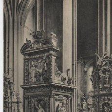 Cartes Postales: INTERIOR DE LA IGLESIA,XVII-FUENTERRABIA-GUIPUZCOA. Lote 212636623