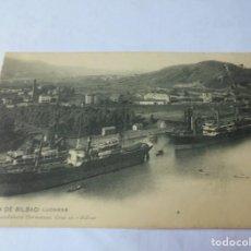 Cartes Postales: MAGNIFICAS 16 POSTALES ANTIGUAS DE BILBAO. Lote 213247451
