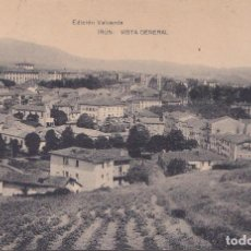 Postales: IRUN (GUIPUZCOA) - VISTA GENERAL. Lote 214191271