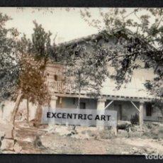 Postales: POSTAL FOTOGRAFICA DE DURANGO - CASERIO CON VACA - 1910-20.. Lote 215244135