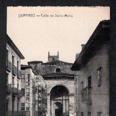 Postales: POSTAL DE DURANGO - CALLE DE SANTA MARIA - FOTO GERMÁN.. Lote 215244528