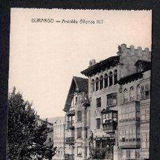 Postales: POSTAL DE DURANGO - AVENIDA ALFONSO XIII FOTO GERMÁN.. Lote 215245133