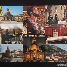 Postales: POSTAL SANTUARIO DE LOYOLA- MANIPEL Nº 21- AZPEITIA. Lote 217289373