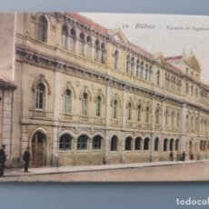 Postales: POSTAL BILBAO Nº 10 ESCUELA DE INGENIEROS LA CASILLA EDIC LIBRERIA VILLAR VIZCAYA SIN DIV PERFECTA C. Lote 217362167