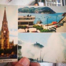 Postales: POSTAL SAN SEBASTIÁN MANIPEL FOURNIER 1964 ESCRITA. Lote 217686861