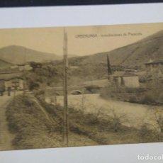 Postales: URBERUAGA. INMEDIACIONES DE PLAZACOLA. SARASQUETA EDITOR. CIRCULADA. Lote 217830077