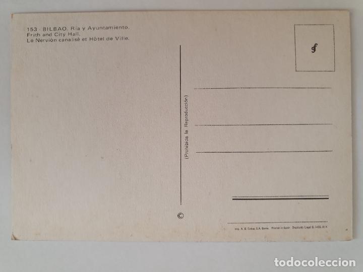 Postales: BILBAO - RÍA Y AYUNTAMIENTO - LMX - PV6 - Foto 2 - 217919427