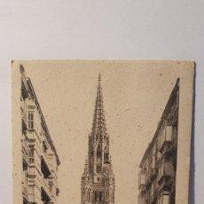 Postales: SAN SEBASTIAN/ IGLESIA DE BUEN PASTOR/ AÑO 40/ ORIGINAL DE ÉPOCA/ SIN CIRCULAR/ (REF.D.104). Lote 218219920