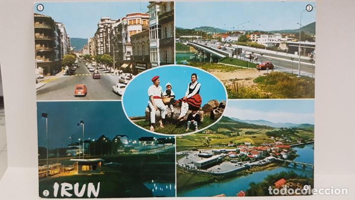 ANTIGUA POSTAL IRÚN. 1969 (Postales - España - País Vasco Moderna (desde 1940))