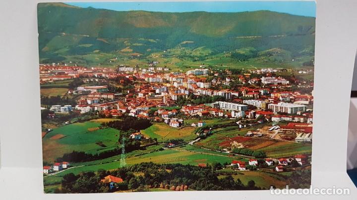 ANTIGUA POSTAL IRÚN. VISTA GENERAL 1967 (Postales - España - País Vasco Moderna (desde 1940))