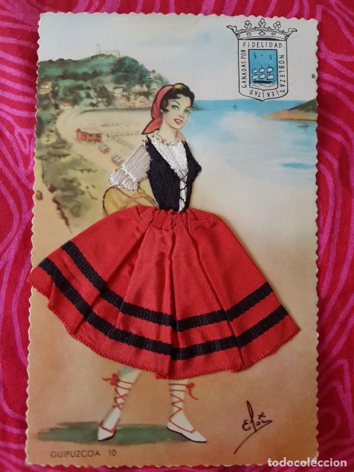 POSTAL ANTIGUA GUIPUZCOA N10 TRAJE REGIONAL JOPAMA (Postales - España - País Vasco Moderna (desde 1940))