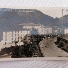 Postales: ELGOIBAR. GUIPUZCOA. BALNEARIO DE ALZOLA. GRAN HOTEL DEL BALNEARIO. SIN CIRCULAR NI USO. Lote 219636088