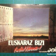 Postales: POSTAL - AEK - EUSKARAZ BIZI EUSKAL HERRIA - POSTCARD. Lote 219660961
