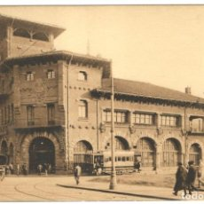 Postales: POSTAL - BILBAO. ESTACIÓN DE LOS FERROCARRILES VASCONGADOS Nº 112.. Lote 219663355