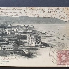 Postales: FUENTERRABIA - HONDARRIBIA - GUIPUZCOA POSTAL ANTIGUA ORIGINAL. Lote 220072358