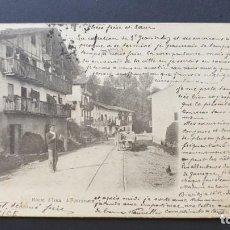 Postales: FUENTERRABIA - HONDARRIBIA - GUIPUZCOA POSTAL ANTIGUA ORIGINAL. Lote 220072935