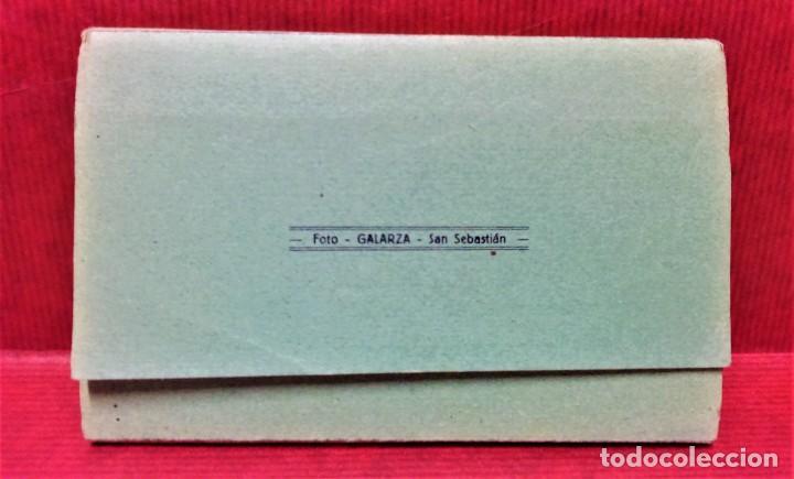 Postales: LOTE 2 ÁLBUMES ACORDEÓN RECUERDO DE SAN SEBASTIÁN.12 VISTAS CADA UNO.SIN ESCRIBIR.FOTOS GALARZA. - Foto 3 - 220599515