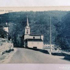 Postales: POSTAL ALZOLA, LA IGLESIA. Lote 220974681