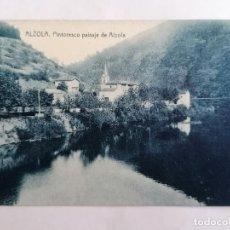 Postales: POSTAL ALZOLA, PINTORESCO PAISAJE DE ALZOLA. Lote 220975347