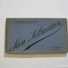 Postales: SAN SEBASTIAN-BLOC CON 20 POSTALES ANTIGUAS-MAYOR HERMANOS ED-VER FOTOS-(74.767). Lote 221160753