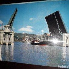 Postales: Nº 39151 POSTAL BILBAO PUENTE DEL GENERALISIMO VIZCAYA. Lote 221294723