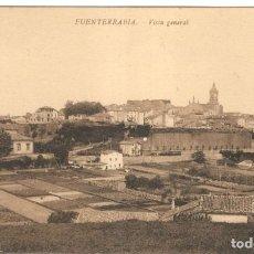 Postales: POSTAL - FUENTERRABIA - VISTA GENERAL. SIN CIRCULAR.. Lote 221319212
